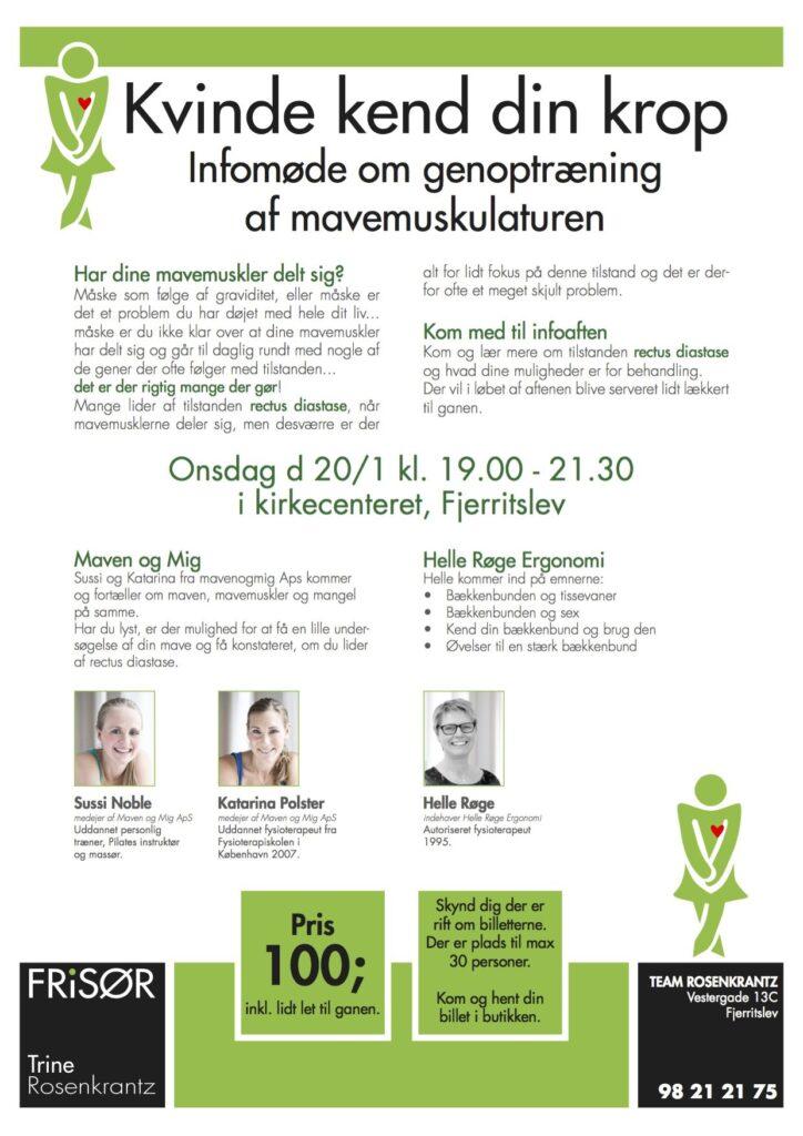 Infomøde i Aalborg / maven og mig