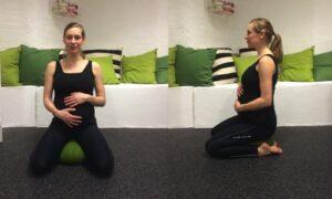 Gravid siddestilling